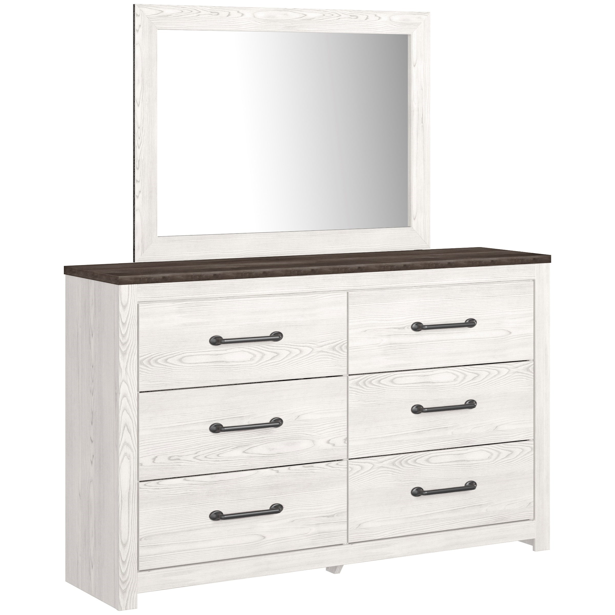 Gerridan Dresser & Bedroom Mirror by Signature Design by Ashley at Northeast Factory Direct