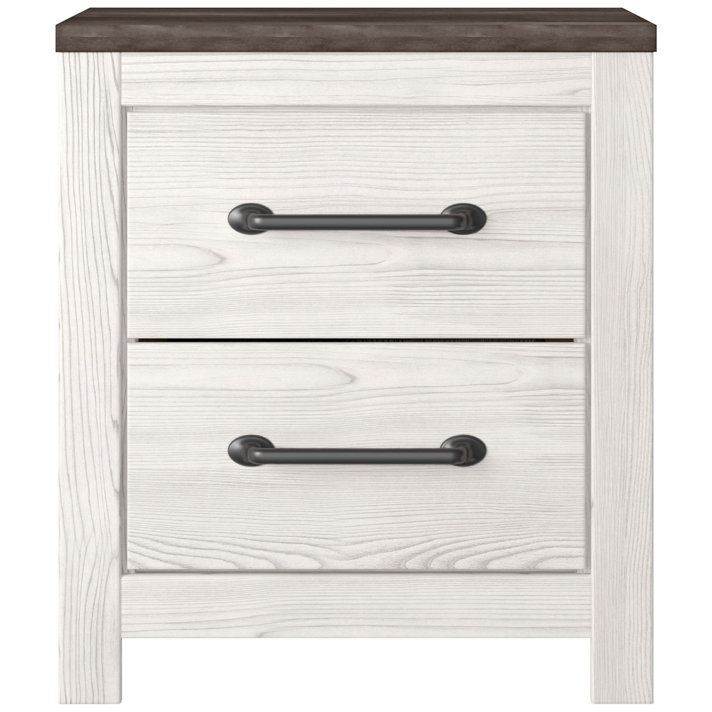 Gerridan 2-Drawer Nightstand by Signature Design by Ashley at Northeast Factory Direct