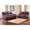 Signature Design by Ashley Gilmanton Reclining Living Room Group - Item Number: 73606 Living Room Group 1