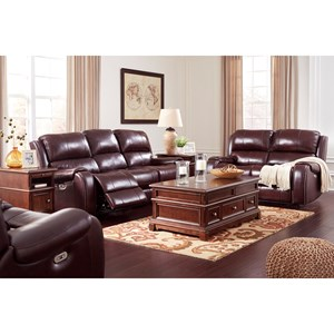 Ashley (Signature Design) Gilmanton Reclining Living Room Group