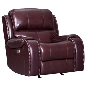 Signature Design by Ashley Gilmanton Power Rocker Recliner w/ Adjustable Headrest