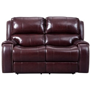 Signature Design by Ashley Gilmanton Power Reclining Loveseat w/ Adj. Headrest