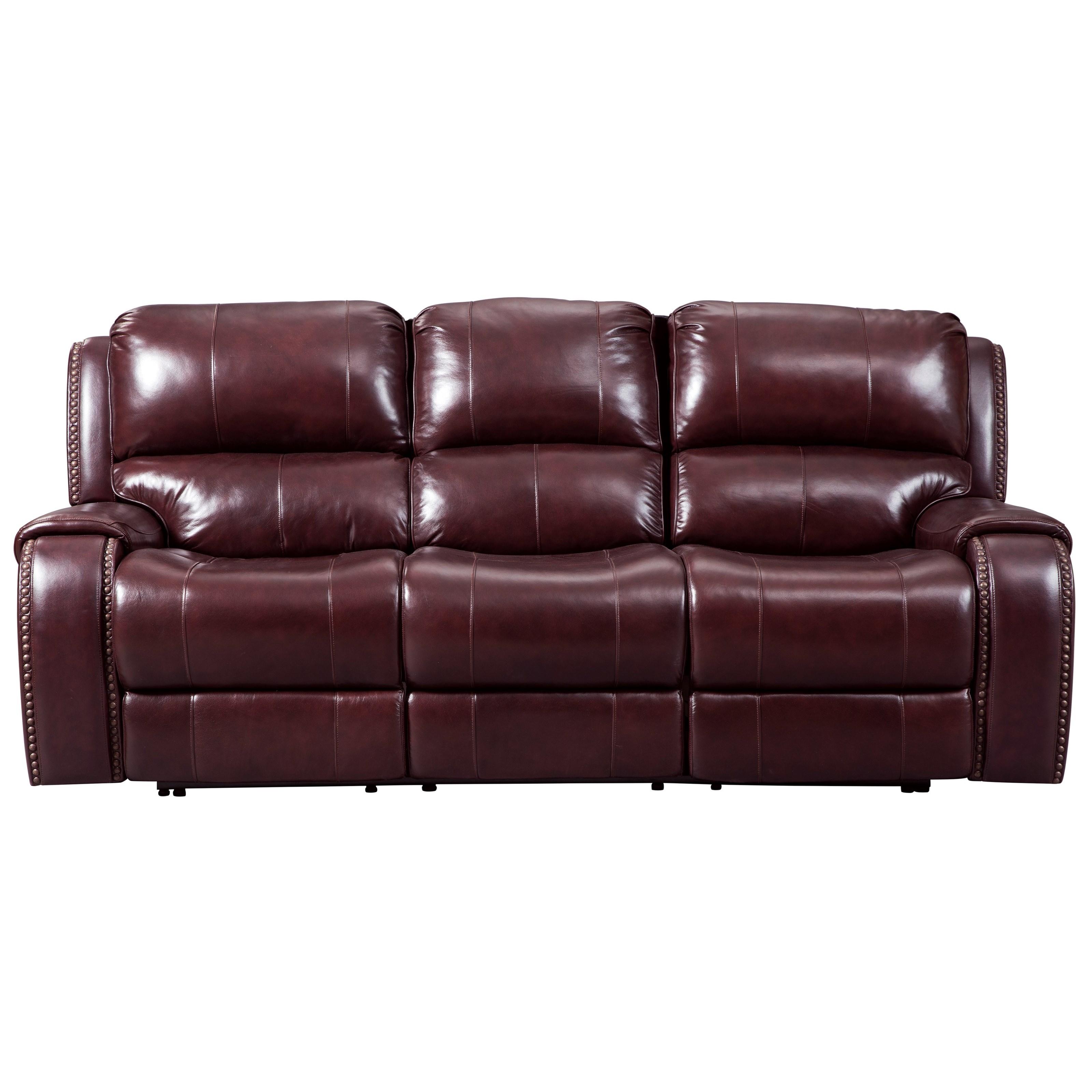 Signature Design by Ashley Gilmanton Power Reclining Sofa w/ Adjustable Headrest - Item Number: 7360615