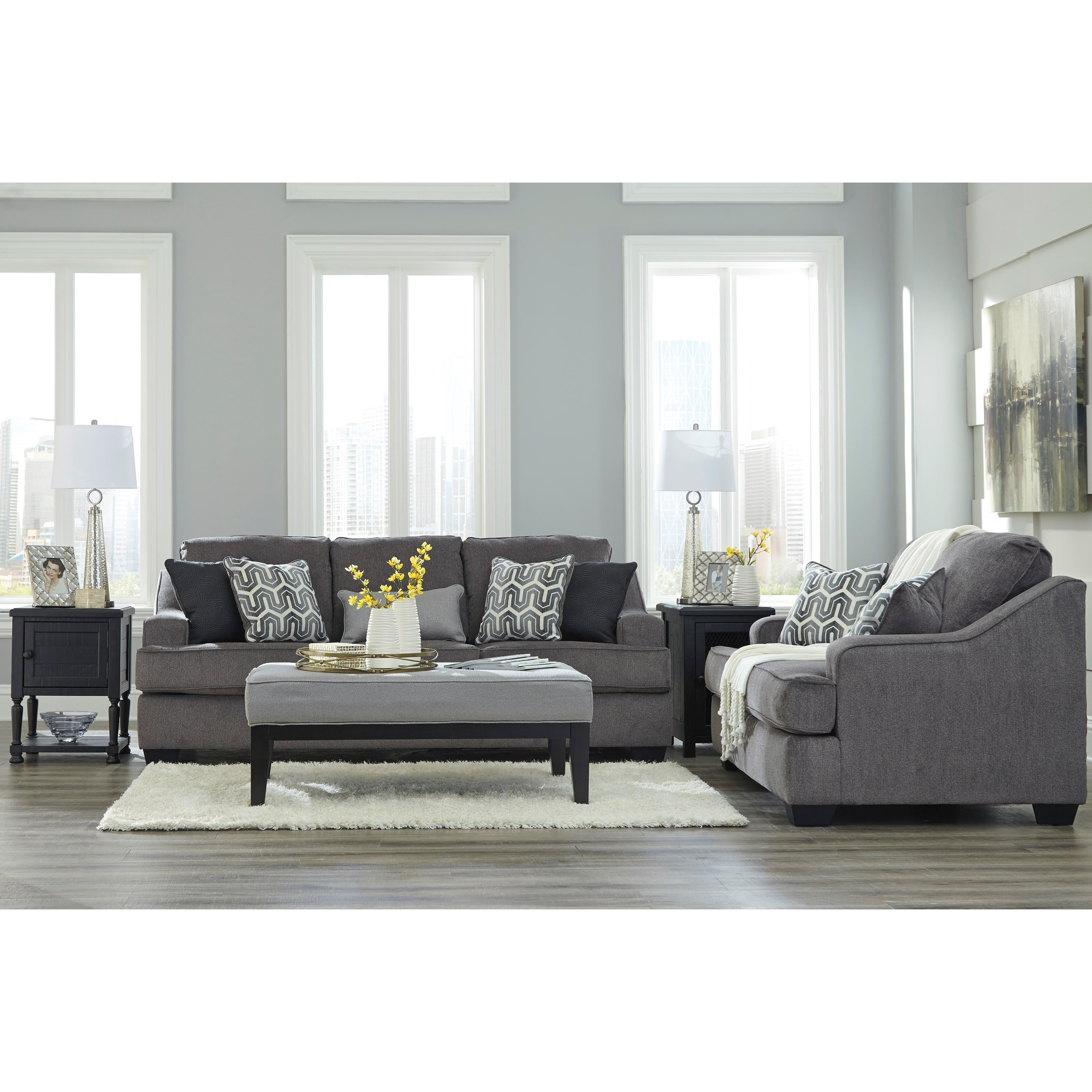 Signature Design by Ashley Gilmer Stationary Living Room Group - Item Number: 65603 Living Room Group 2