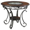 Signature Design by Ashley Glambrey Round Dining Room Counter Table - Item Number: D329-13