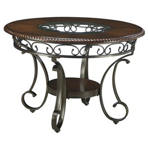 Signature Design by Ashley Glambrey Round Dining Room Table