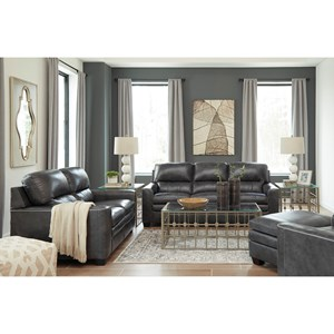 Signature Design by Ashley Gleason Stationary Living Room Group