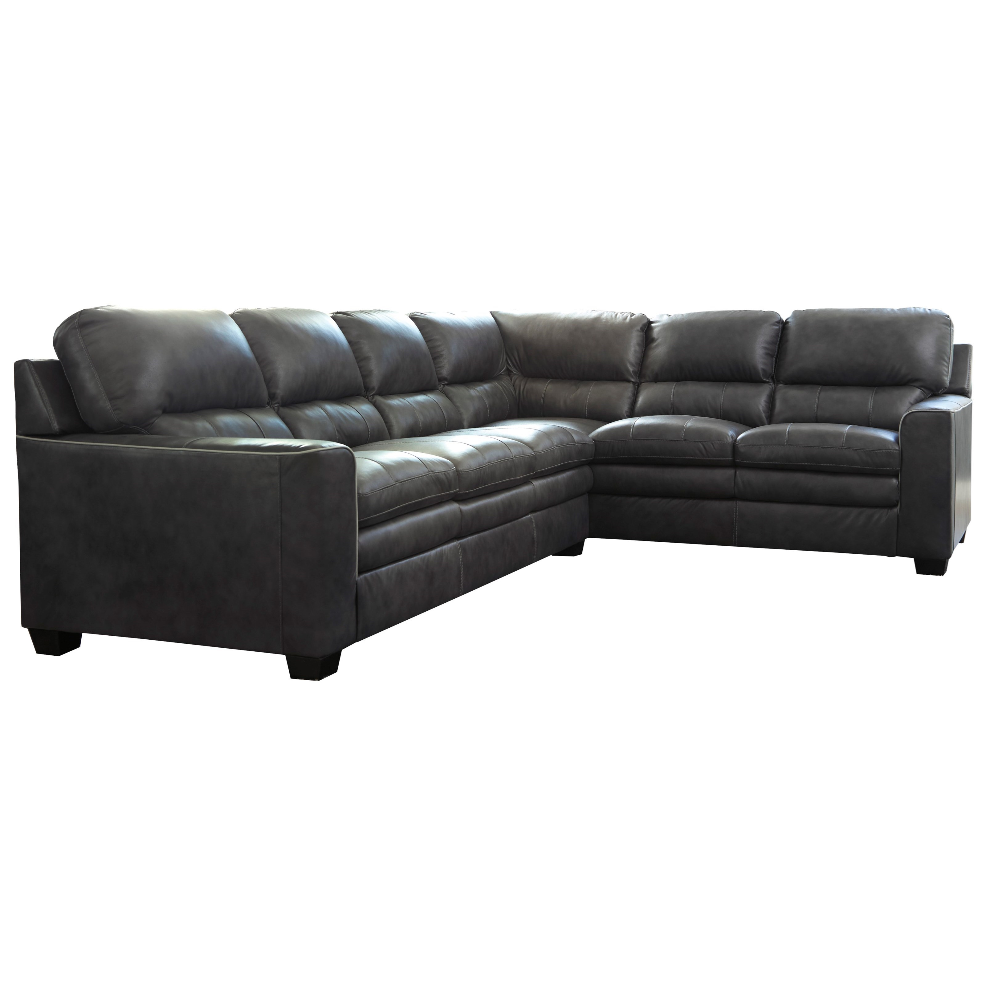 Signature Design by Ashley Gleason L-Shape Sectional - Item Number: 1570266+49