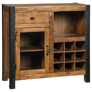 Signature Design by Ashley Glosco Wine Cabinet