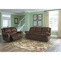 Signature Design by Ashley Goodlow Reclining Living Room Group - Item Number: 79003 Living Room Group 1