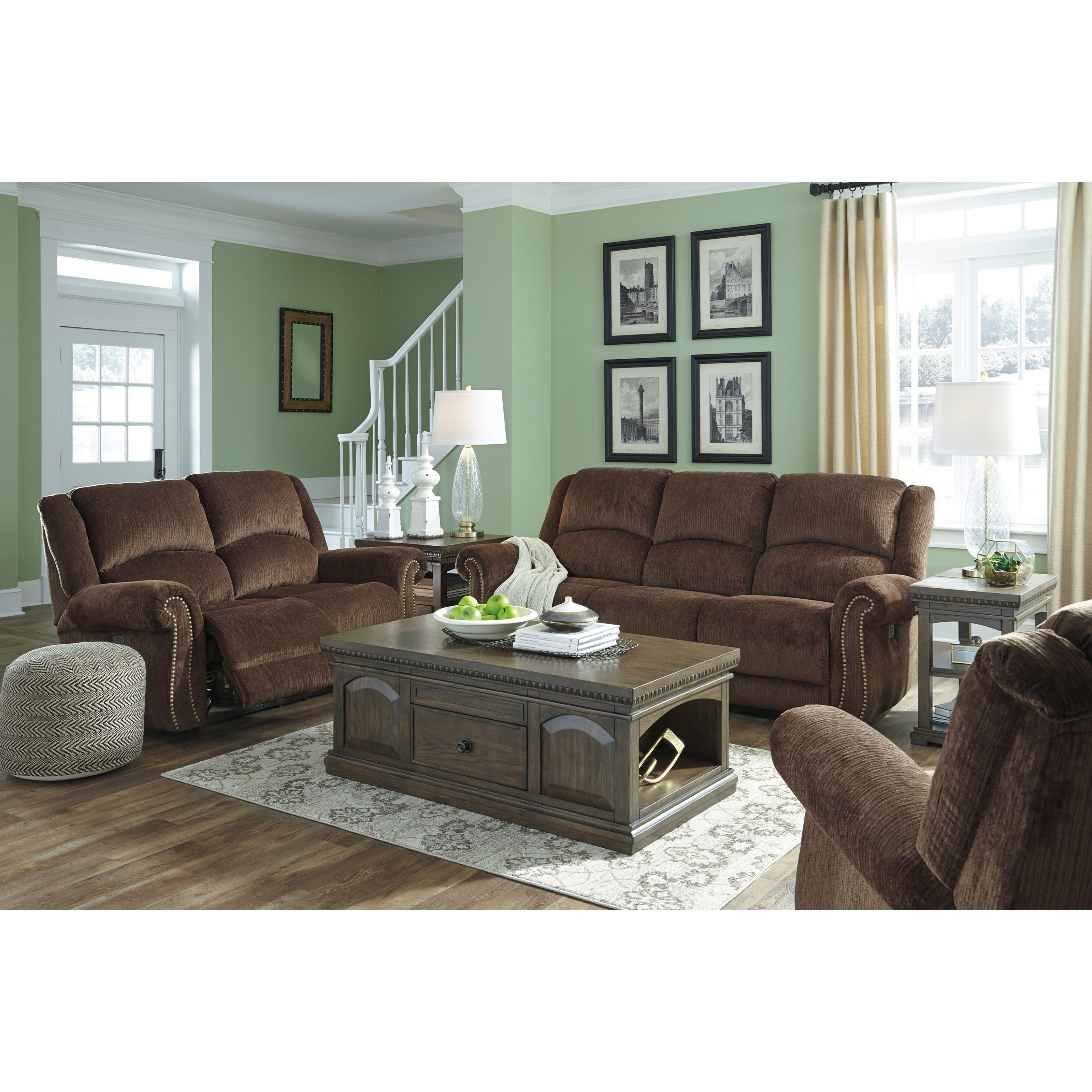 Signature Design By Ashley Goodlow Reclining Living Room