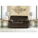 Signature Design by Ashley Gosnell Casual Loveseat with Corduroy Fabric