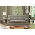 Signature Design by Ashley Gosnell Casual Full Sofa Sleeper with Corduroy Fabric