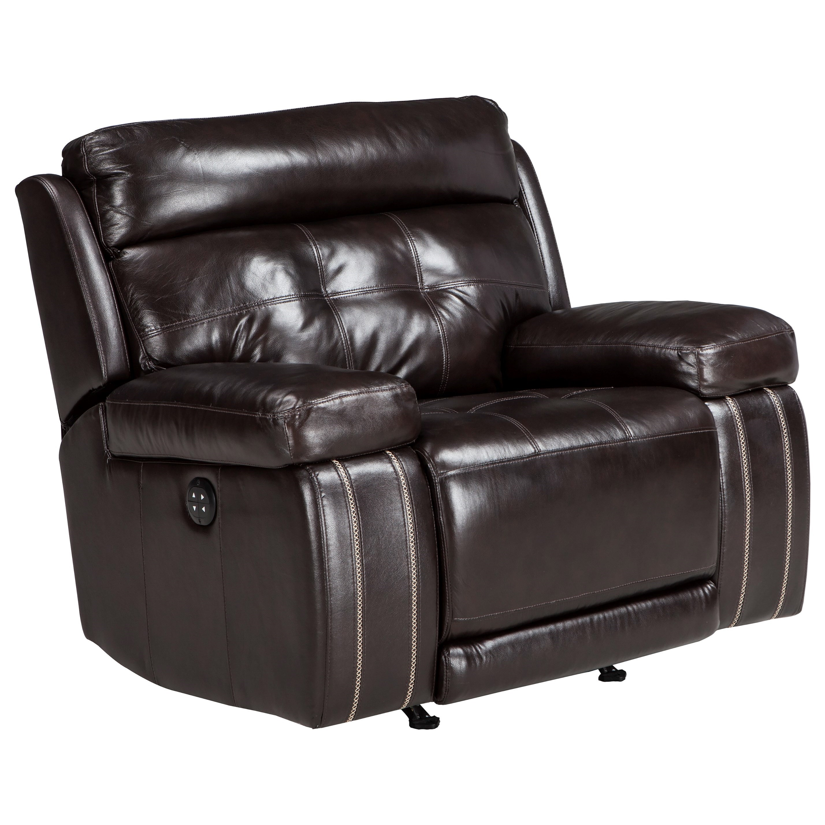 Signature Design by Ashley Graford Power Recliner with Adjustable Headrest - Item Number: 6470213