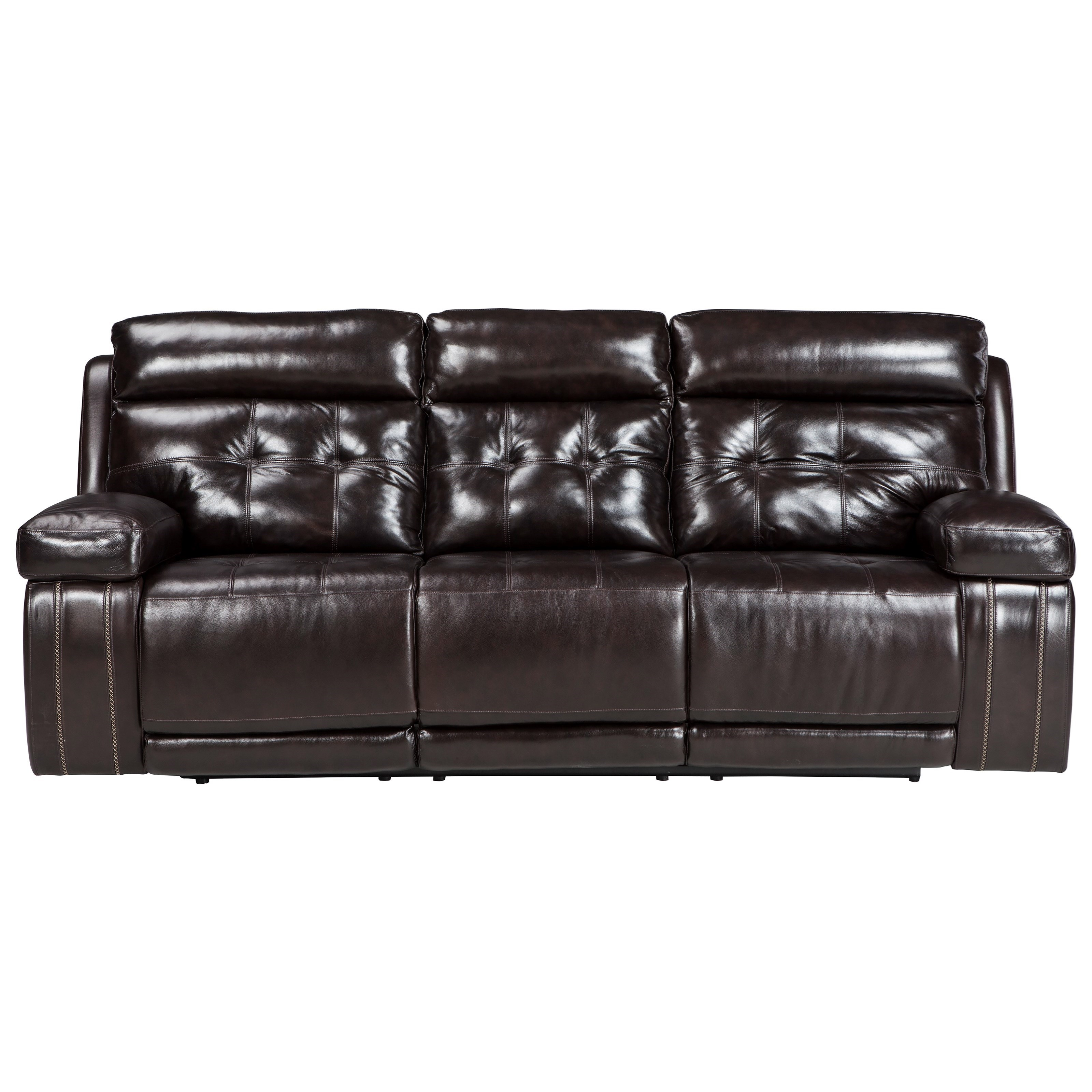Signature Design By Ashley Graford Power Reclining Sofa W/ Adjustable  Headrest   Item Number: