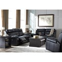Signature Design by Ashley Graford Reclining Living Room Group - Item Number: 64703 Living Room Group 2