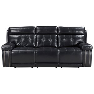 Signature Design by Ashley Graford Power Reclining Sofa w/ Adjustable Headrest