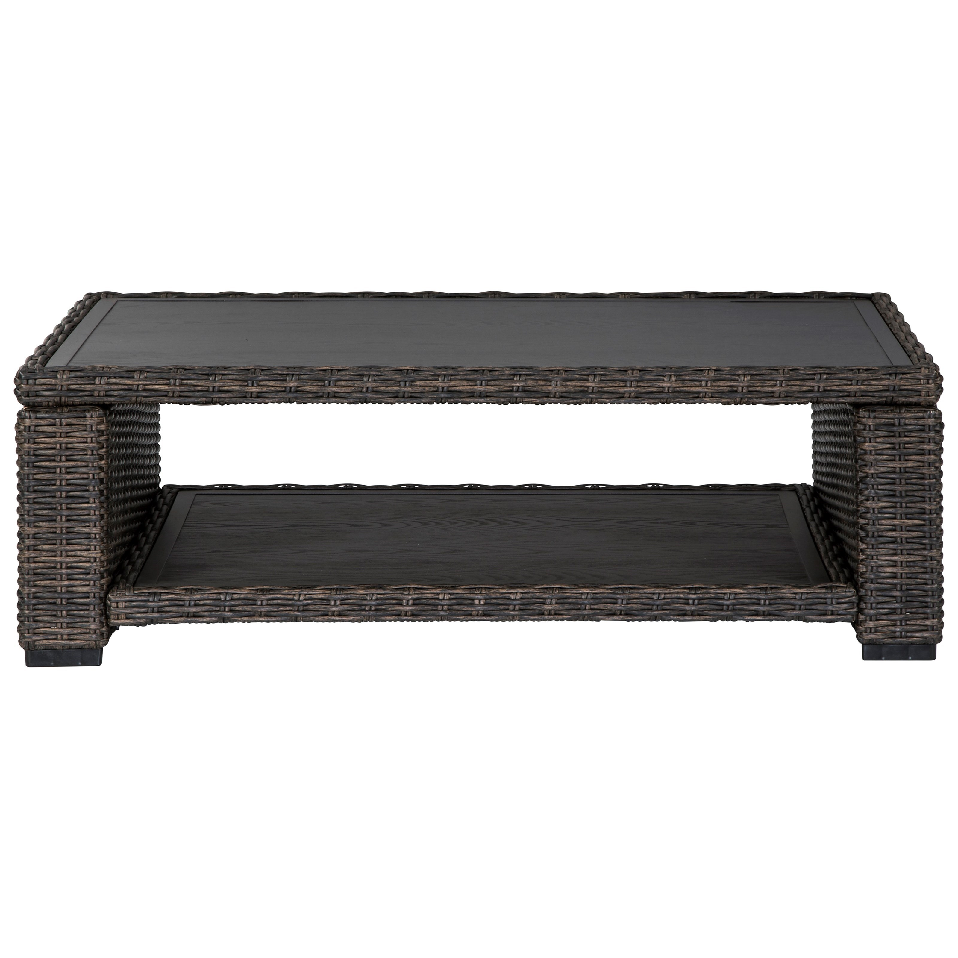 Grasson Lane Rectangular Cocktail Table by Signature at Walker's Furniture