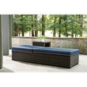 Signature Design by Ashley Grasson Lane Contemporary Chaise Lounge with Cushion