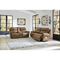 Signature Design by Ashley Grearview Power Reclining Living Room Group - Item Number: PKG011004