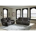 Signature Design by Ashley Grearview Power Reclining Living Room Group - Item Number: PKG011006