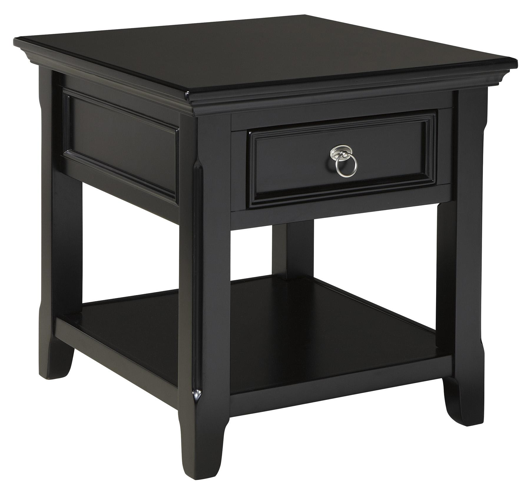 Signature Design by Ashley Greensburg Rectangular End Table - Item Number: T811-3