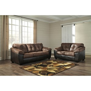 Ashley Signature Design Gregale Stationary Living Room Group