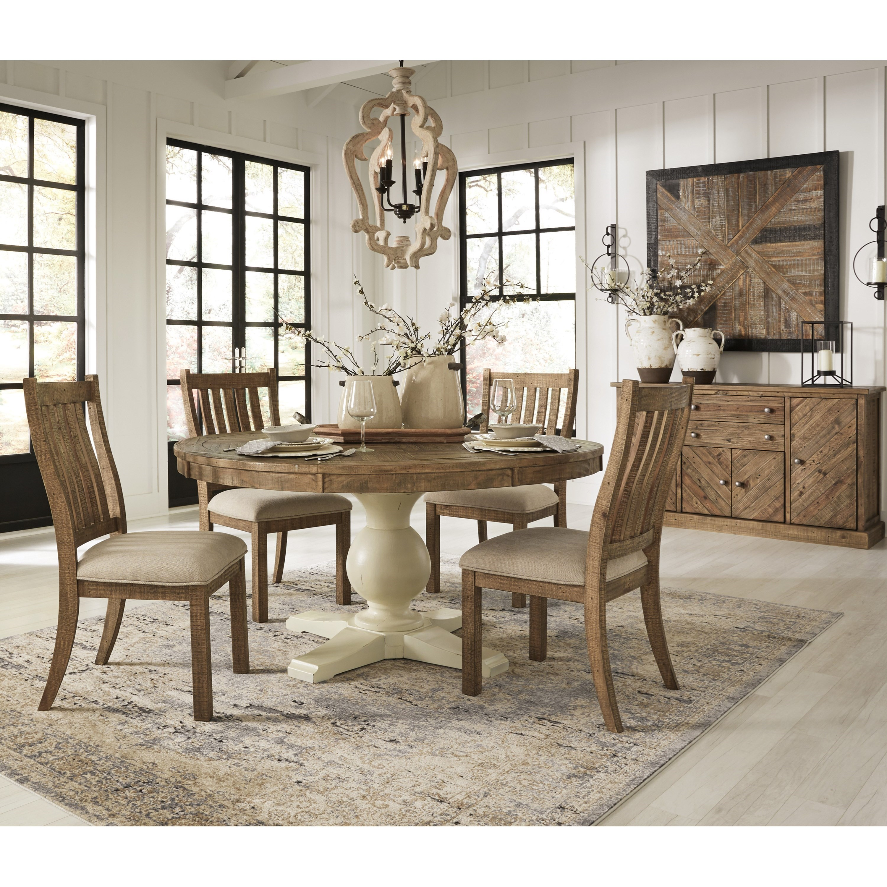 Ashley D754 05: Signature Design By Ashley Grindleburg Casual Dining Room