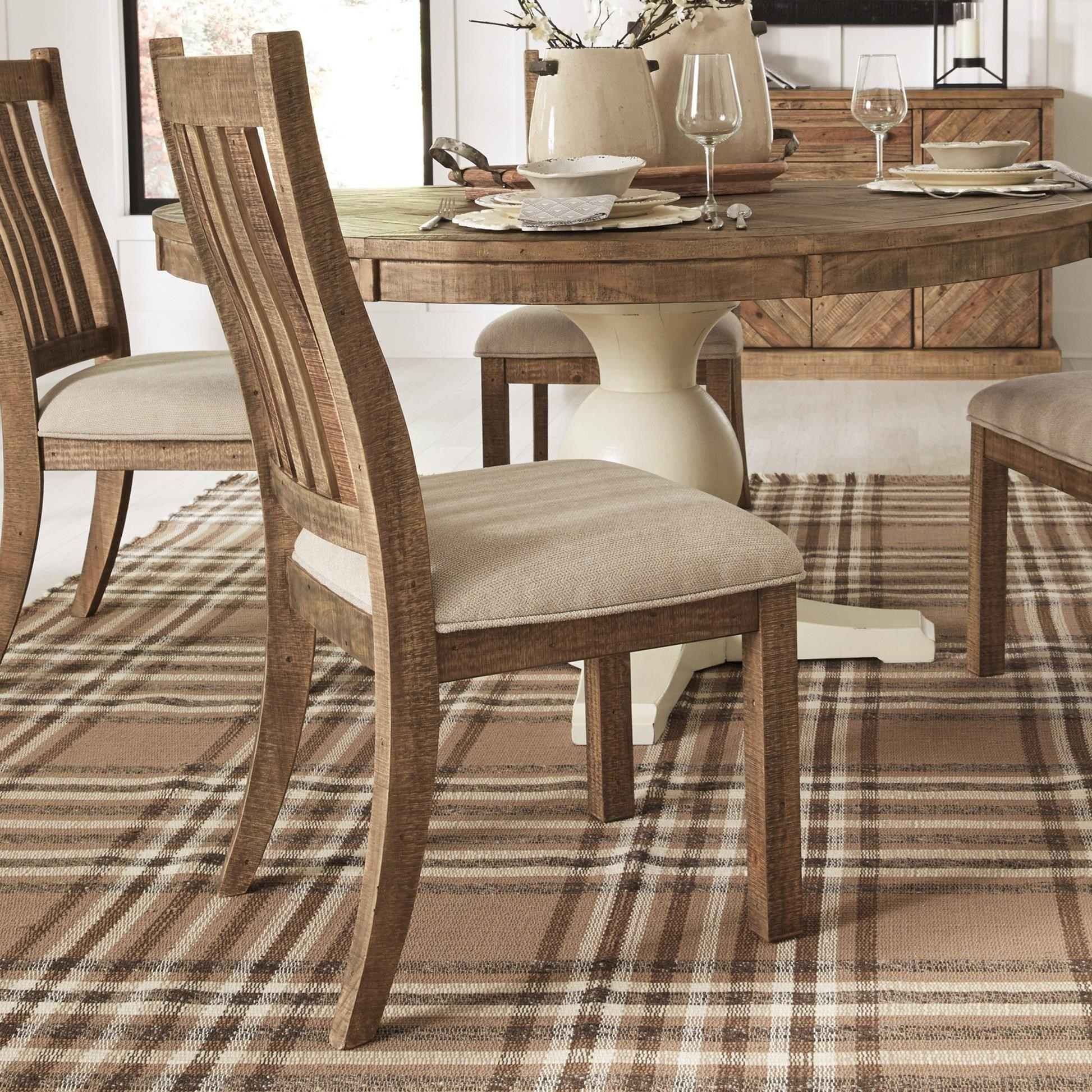 Grindleburg Dining Room Table Round: Signature Design By Ashley Grindleburg Dining Upholstered