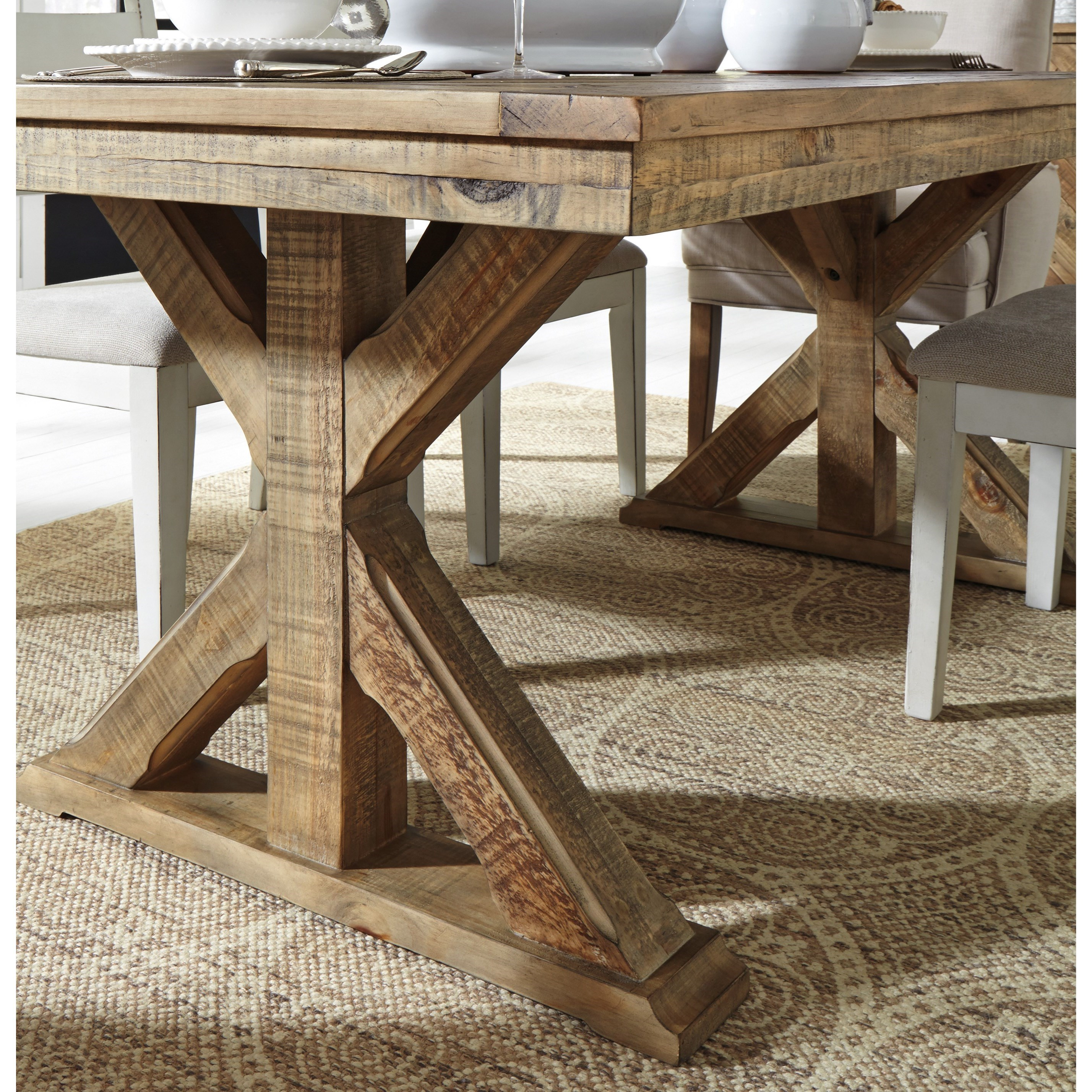 Grindleburg Dining Room Table Round: Signature Design By Ashley Grindleburg D754-125