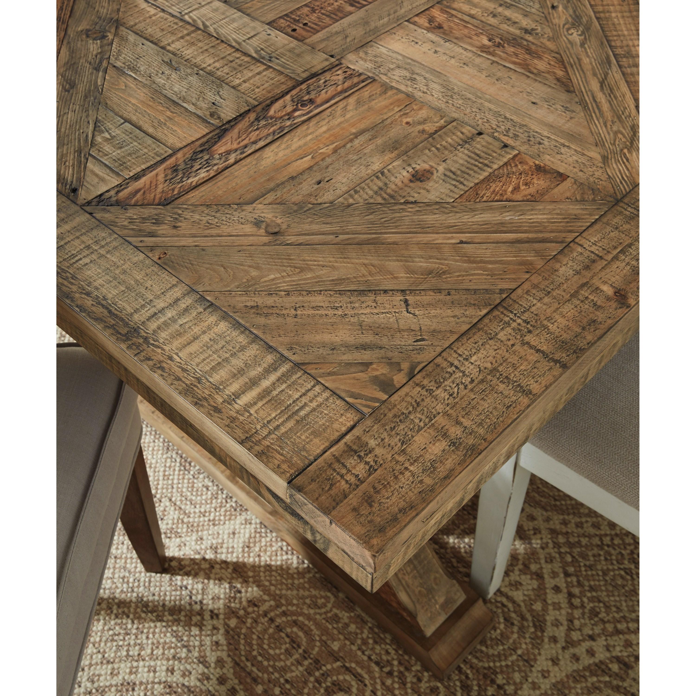 Grindleburg Dining Room Table: Grindleburg Rectangular Dining Room Trestle Table
