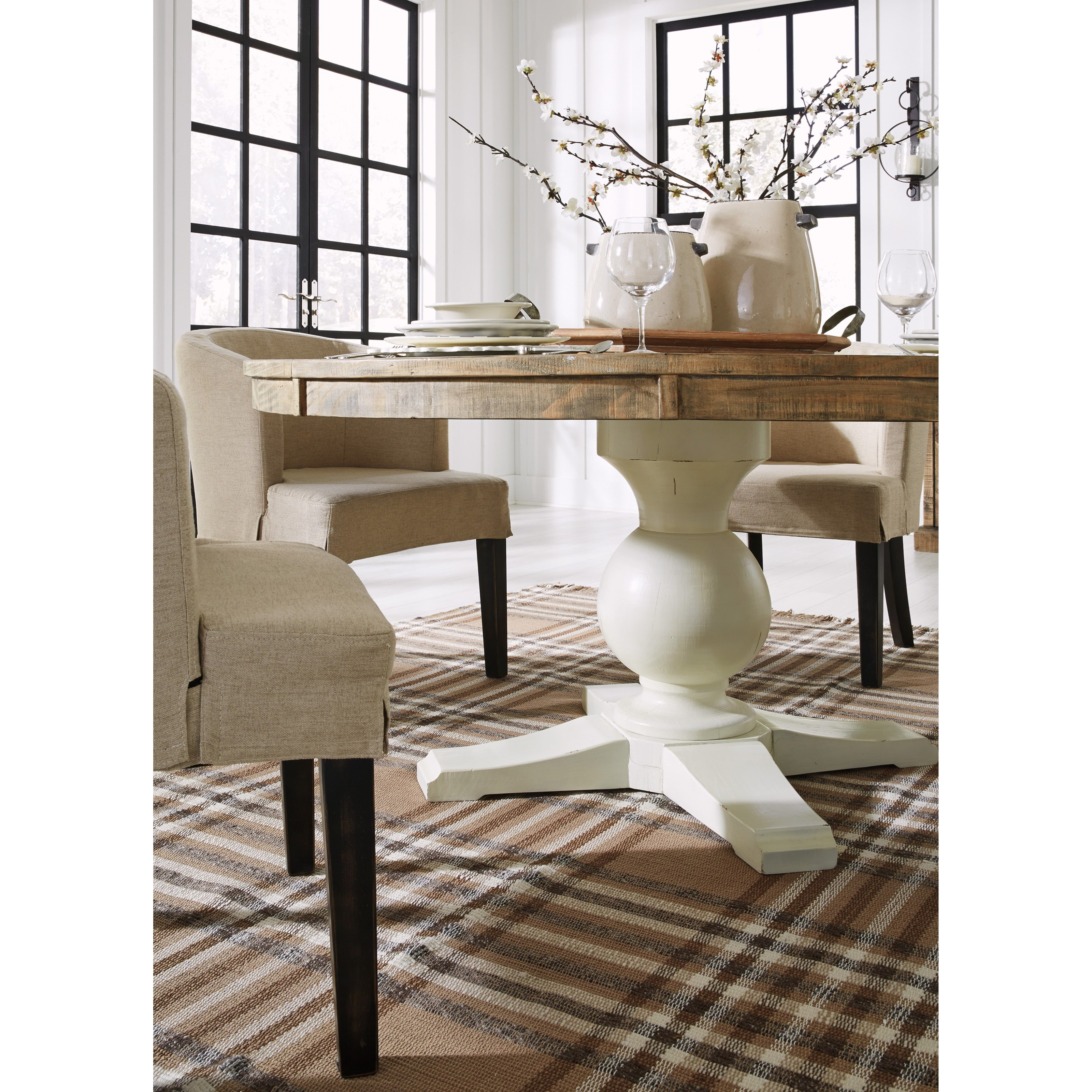 Ashley Dining Table: Signature Design By Ashley Grindleburg Round Dining Room