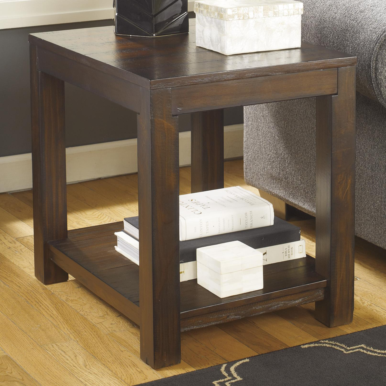 Signature Design by Ashley Grinlyn Rectangular End Table - Item Number: T660-3