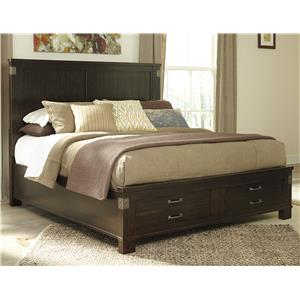 Signature Design by Ashley Haddigan Queen Panel Storage Bed