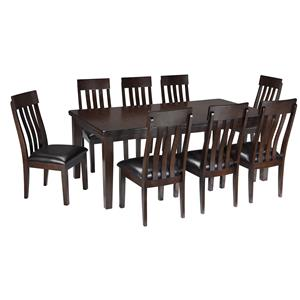 9-Piece Dining Room Table & Side Chair Set