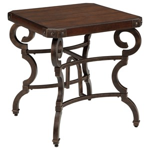 Signature Design by Ashley Hadelyn Square End Table