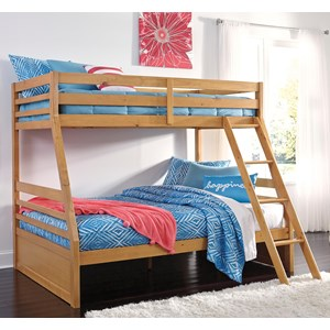 Ashley Signature Design Hallytown Twin/Full Bunk Bed