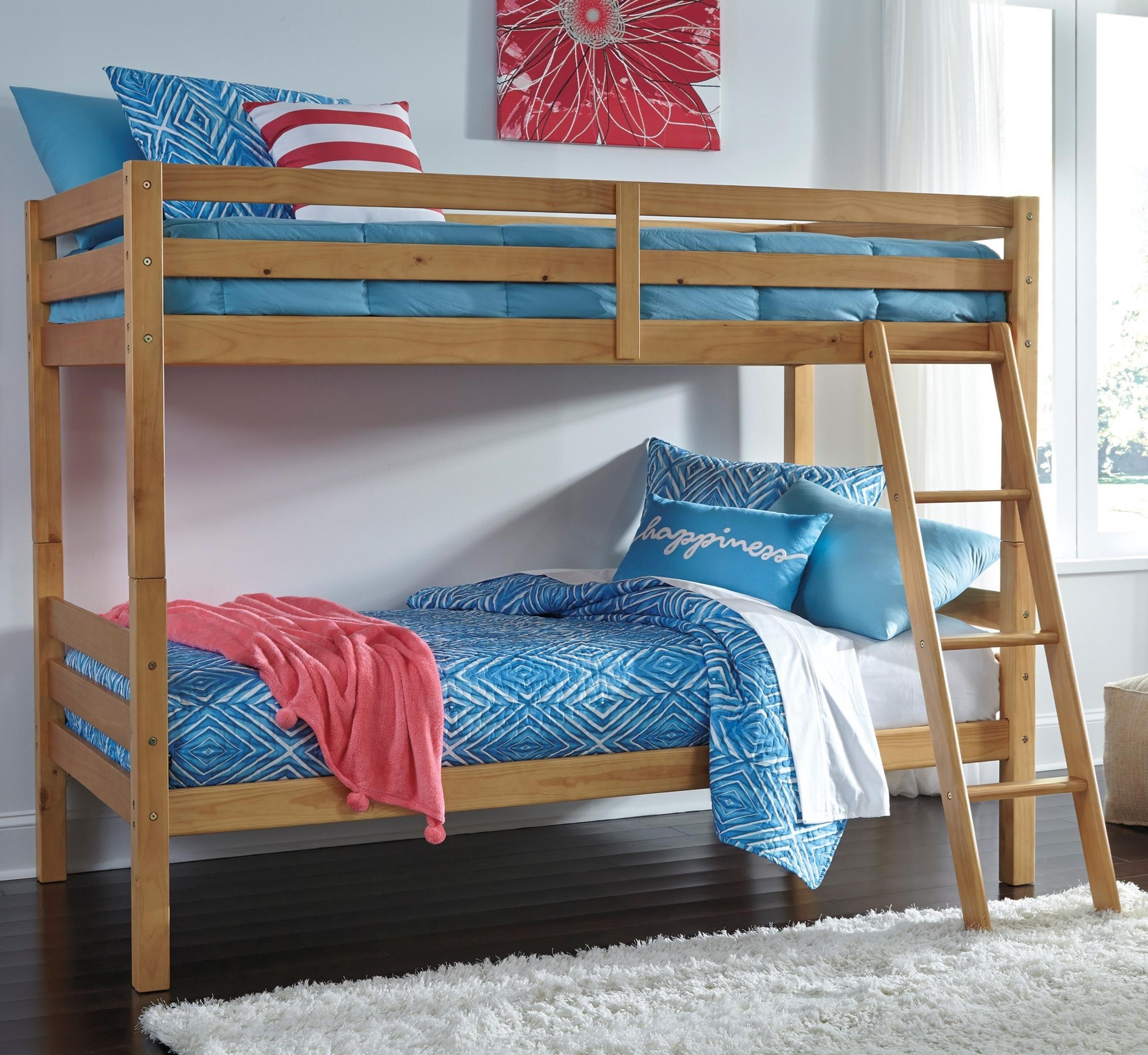 Signature Design by Ashley Hallytown Twin/Twin Bunk Bed - Item Number: B324-59