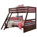 Signature Design by Ashley Halanton Twin/Full Bunk Bed - Item Number: B328-58P+58R