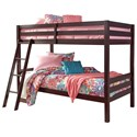 Signature Design by Ashley Halanton Twin/Twin Bunk Bed - Item Number: B328-59