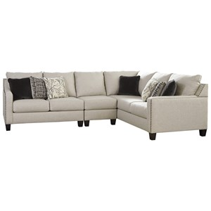 Signature Design by Ashley Hallenberg 3 Piece Sectional