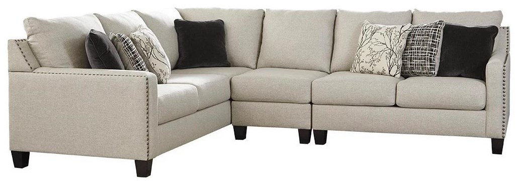 Hallenberg 3 Piece Sectional by Ashley (Signature Design) at Johnny Janosik