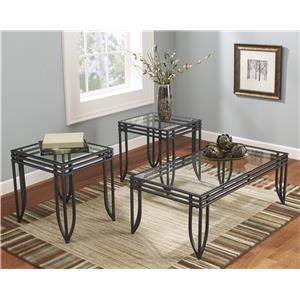 Morris Home Hallow Ridge Hallow Ridge Table 3 Pack