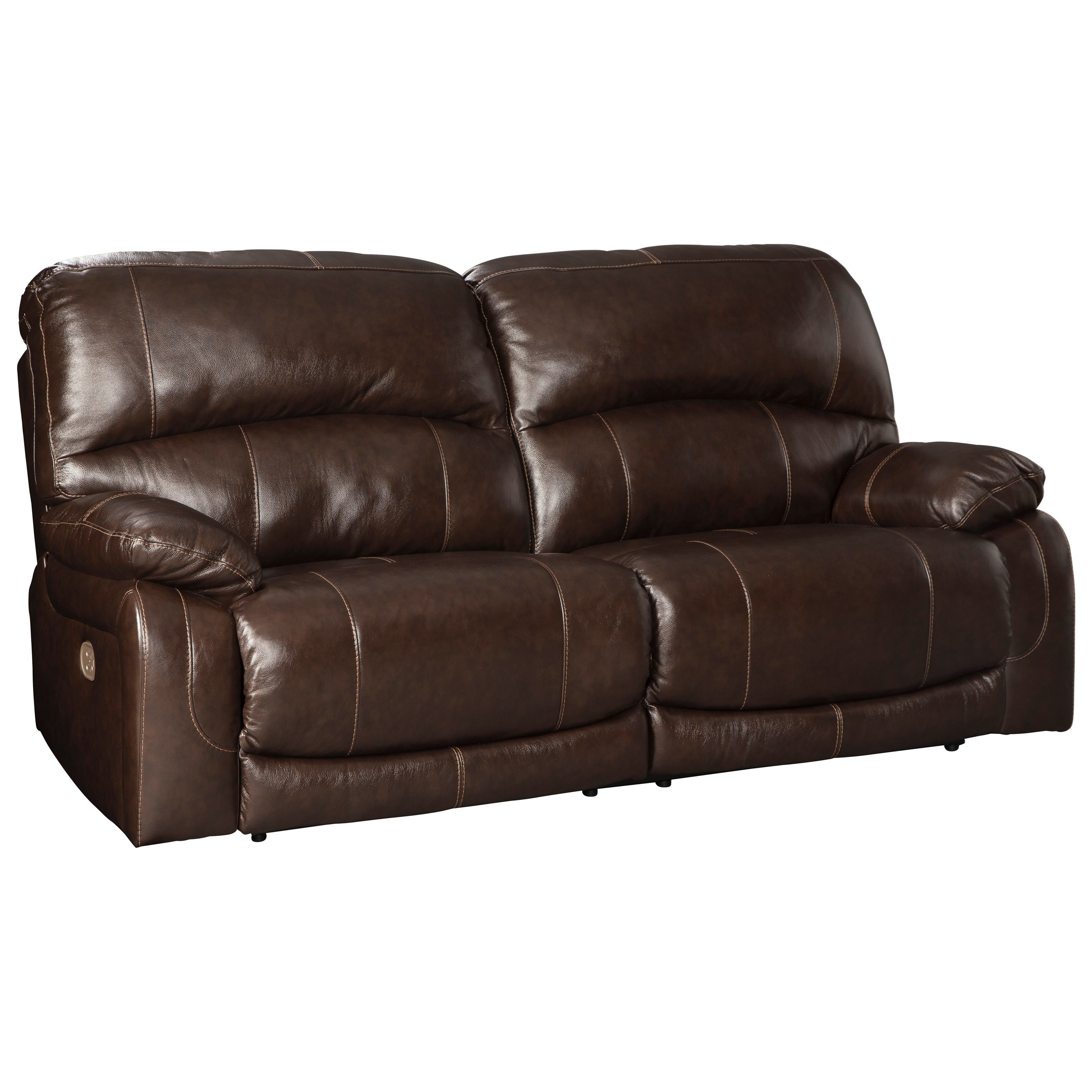 ultra modern red passion love seat   Signature Design by Ashley Ultra Chocolate Leather Match 2 ...