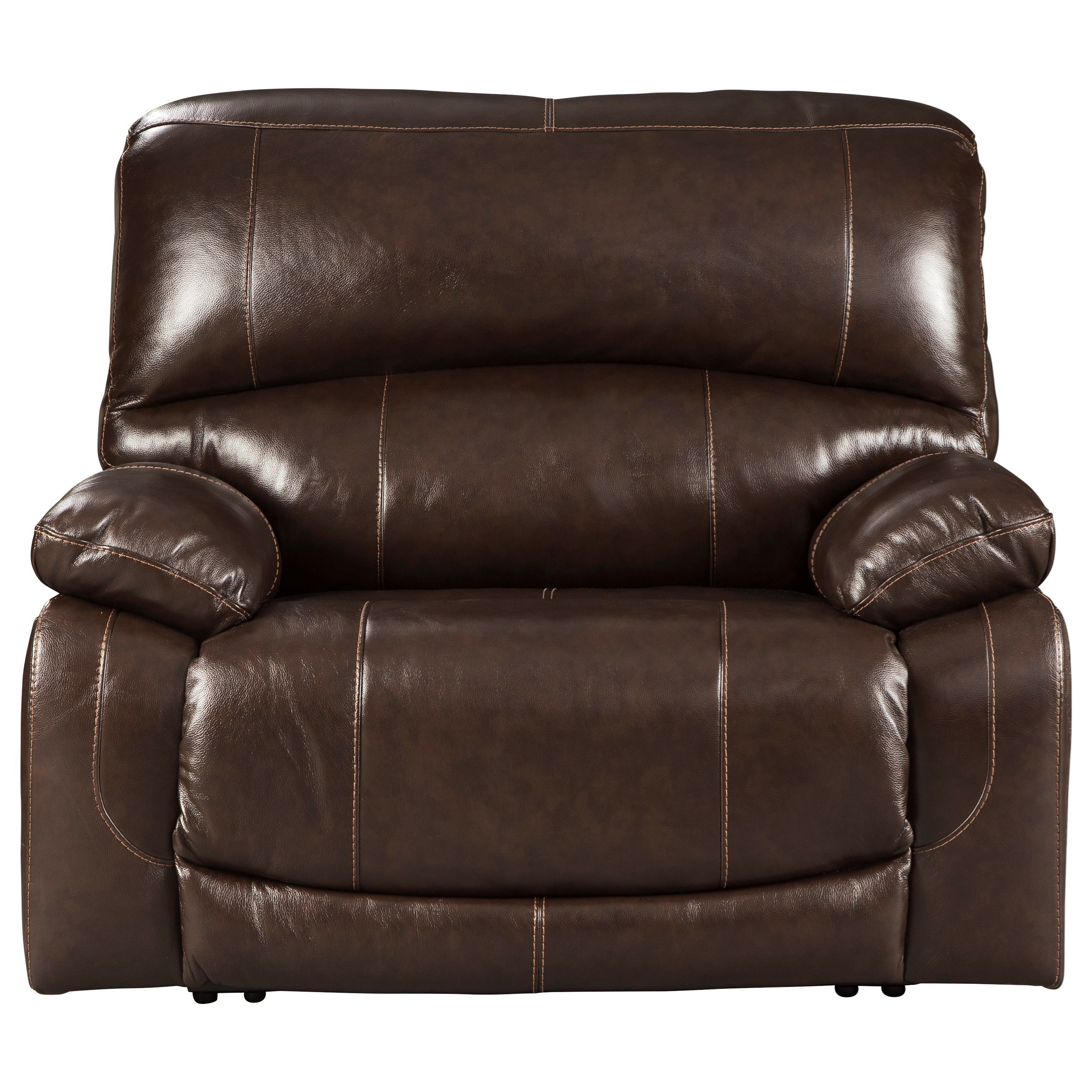 Hallstrung Zero Wall Power Wide Recliner by Ashley (Signature Design) at Johnny Janosik