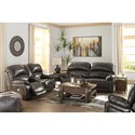 Signature Design by Ashley Hallstrung Power Reclining Living Room Group - Item Number: U52403 Living Room Group 2