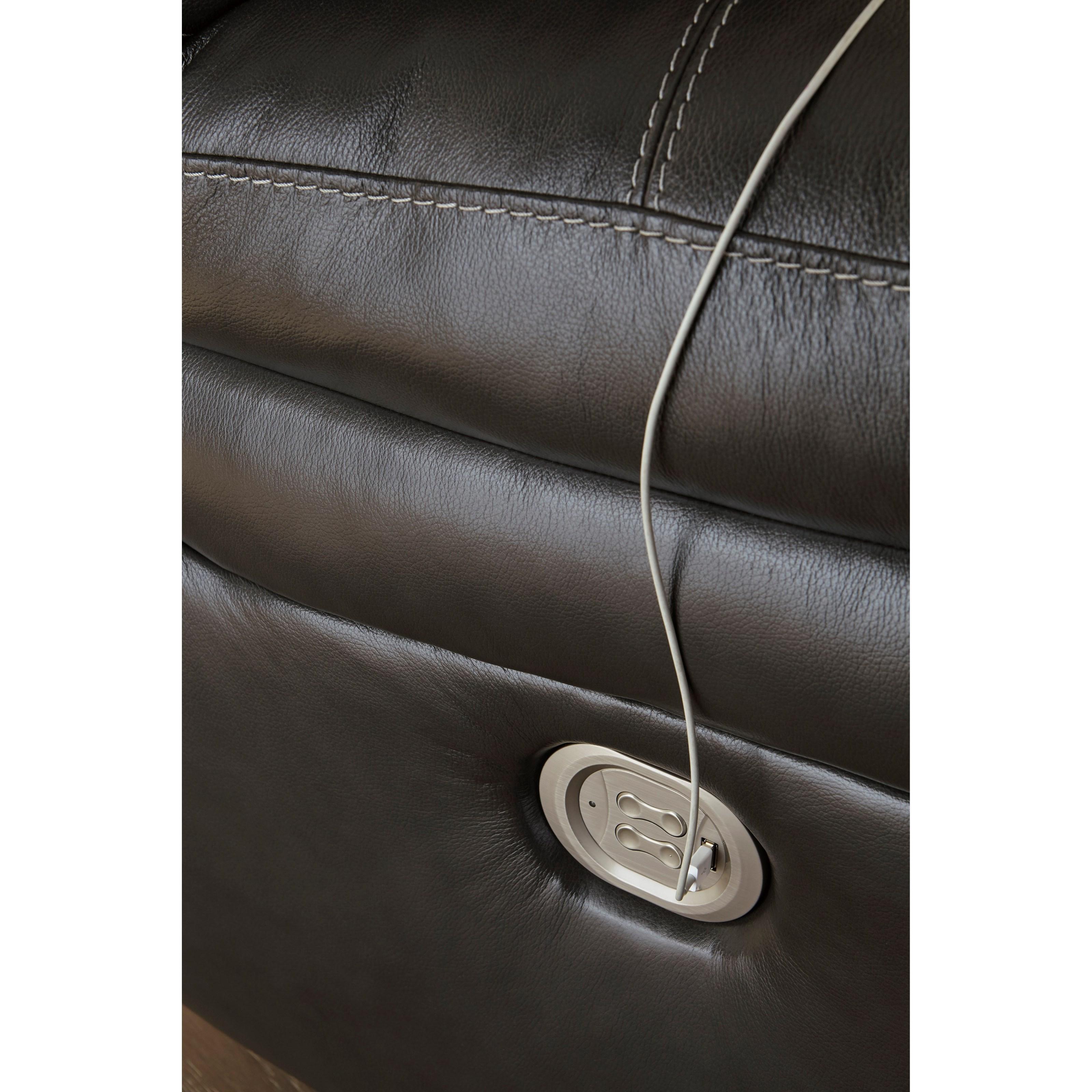 Ashley Furniture Outlet Wausau: Signature Design By Ashley Hallstrung U5240382 Leather