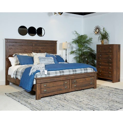 Signature Design by Ashley Hammerstead King Bedroom Group - Item Number: B407 K Bedroom Group
