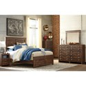Signature Design by Ashley Hammerstead Queen Bedroom Group - Item Number: B407 Q Bedroom Group 4