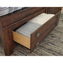 Signature Design by Ashley Hammerstead Queen Storage Bed with Two Drawers